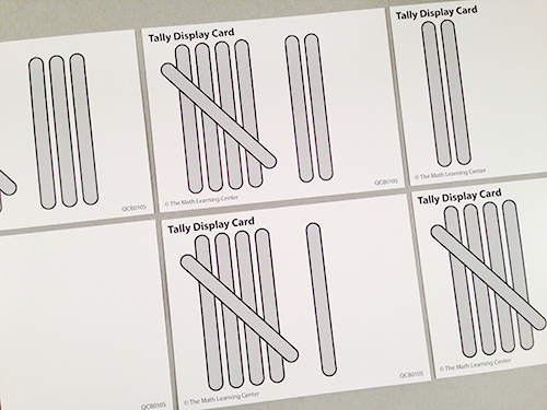 Tally Display Cards