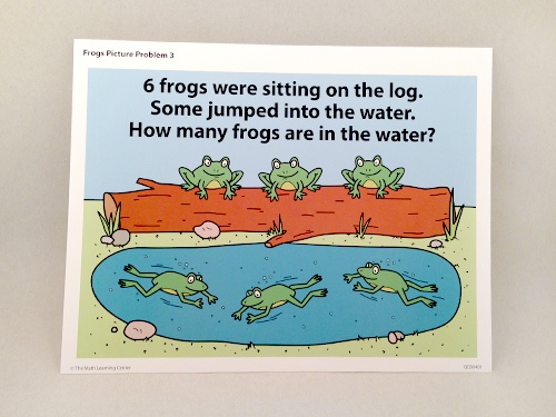 Frogs Picture Problems
