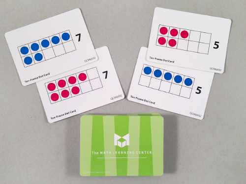 Ten-Frame Dot Cards
