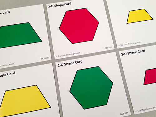 2-D Shape Cards