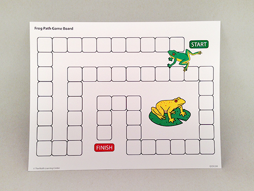 Frog Path Game Board