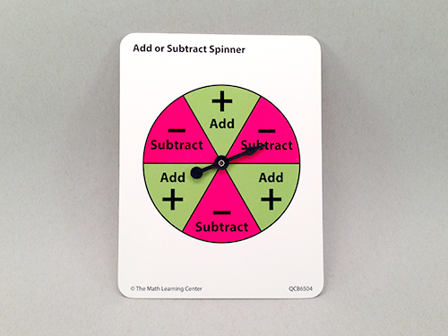 Add Or Subtract Spinner