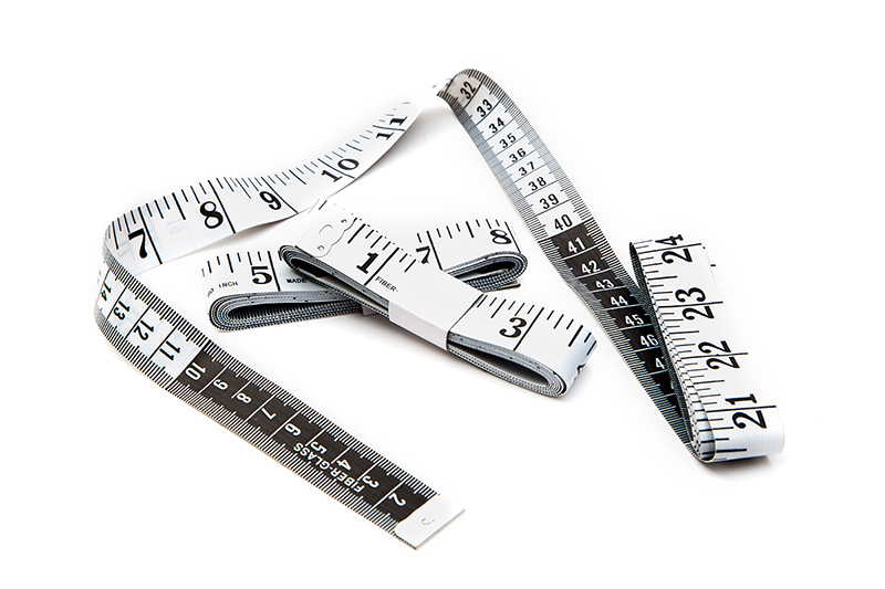 measuring tape centimeter and inches qty 3