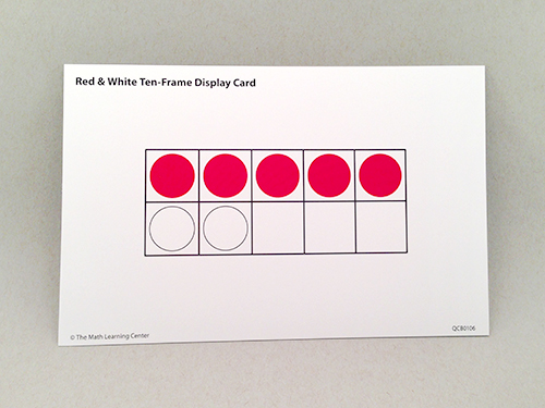 Red & White Display Cards