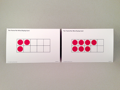 Ten-Frame Pair-Wise Display Cards