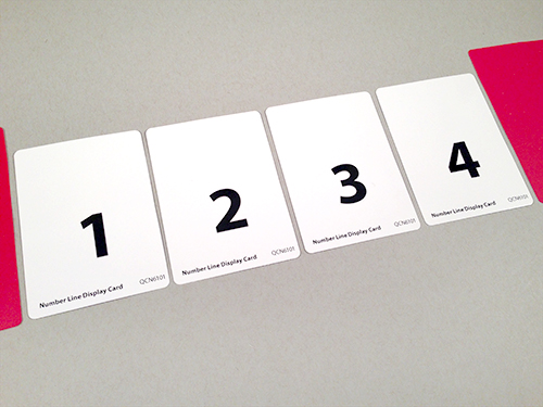 Number Line Display Cards And Slides