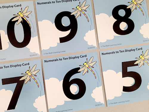 Numerals To Ten Display Cards
