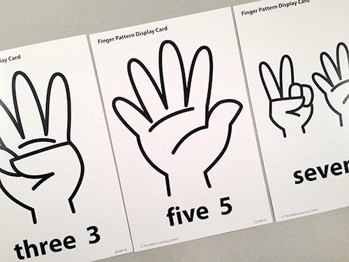 Finger Pattern Display Cards