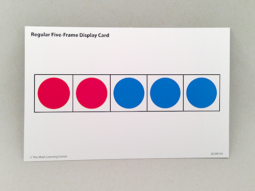 Regular Five-Frame Display Cards