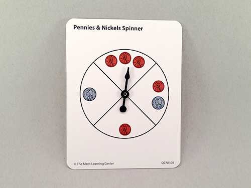 Pennies & Nickels Spinner