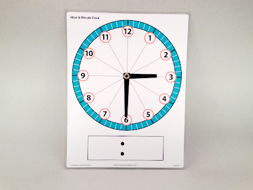 Hour & Minute Clock