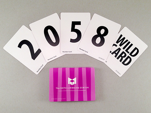 Number Card Decks