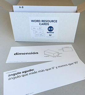 Word Resource Cards, Grades 3-5, 2nd ed. (Spanish)